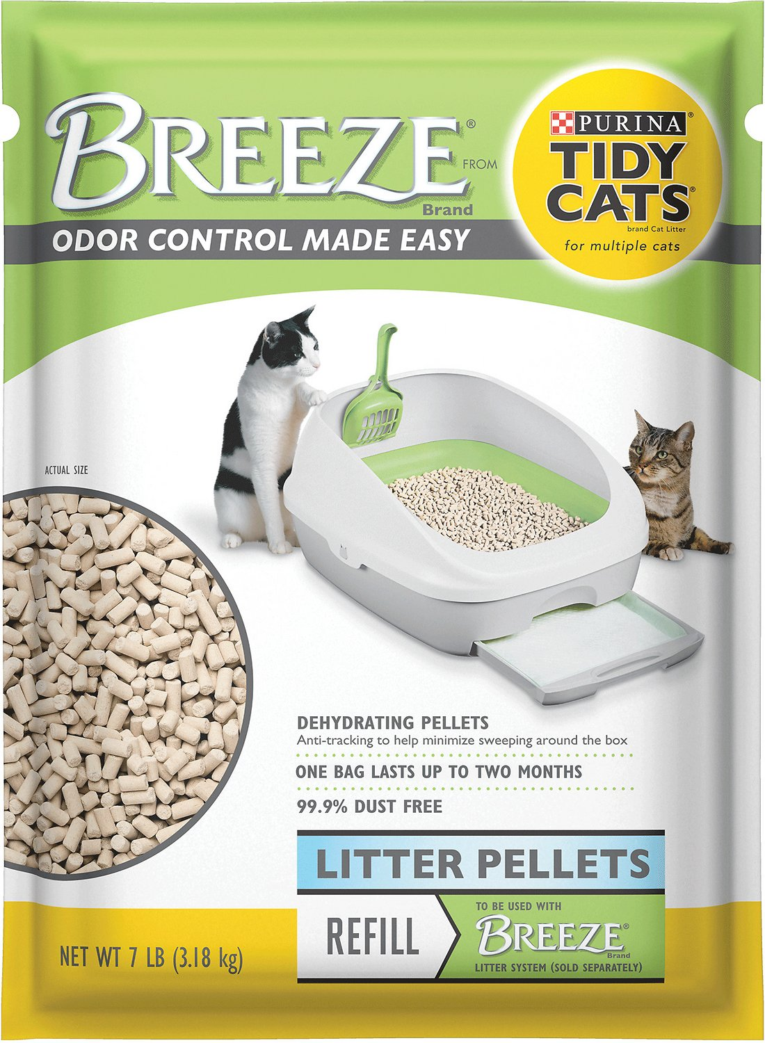 Tidy Cats Breeze Cat Litter Pellets Image