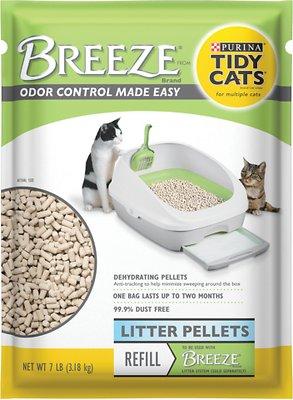 Tidy Cats Breeze Cat Litter Pellets, 7-lb bag