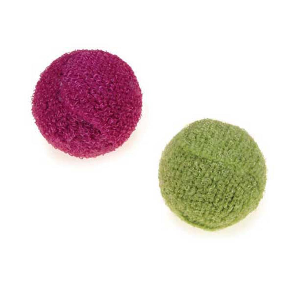 Savvy Tabby Knit Rattle Ball Cat Toy, 1-ct