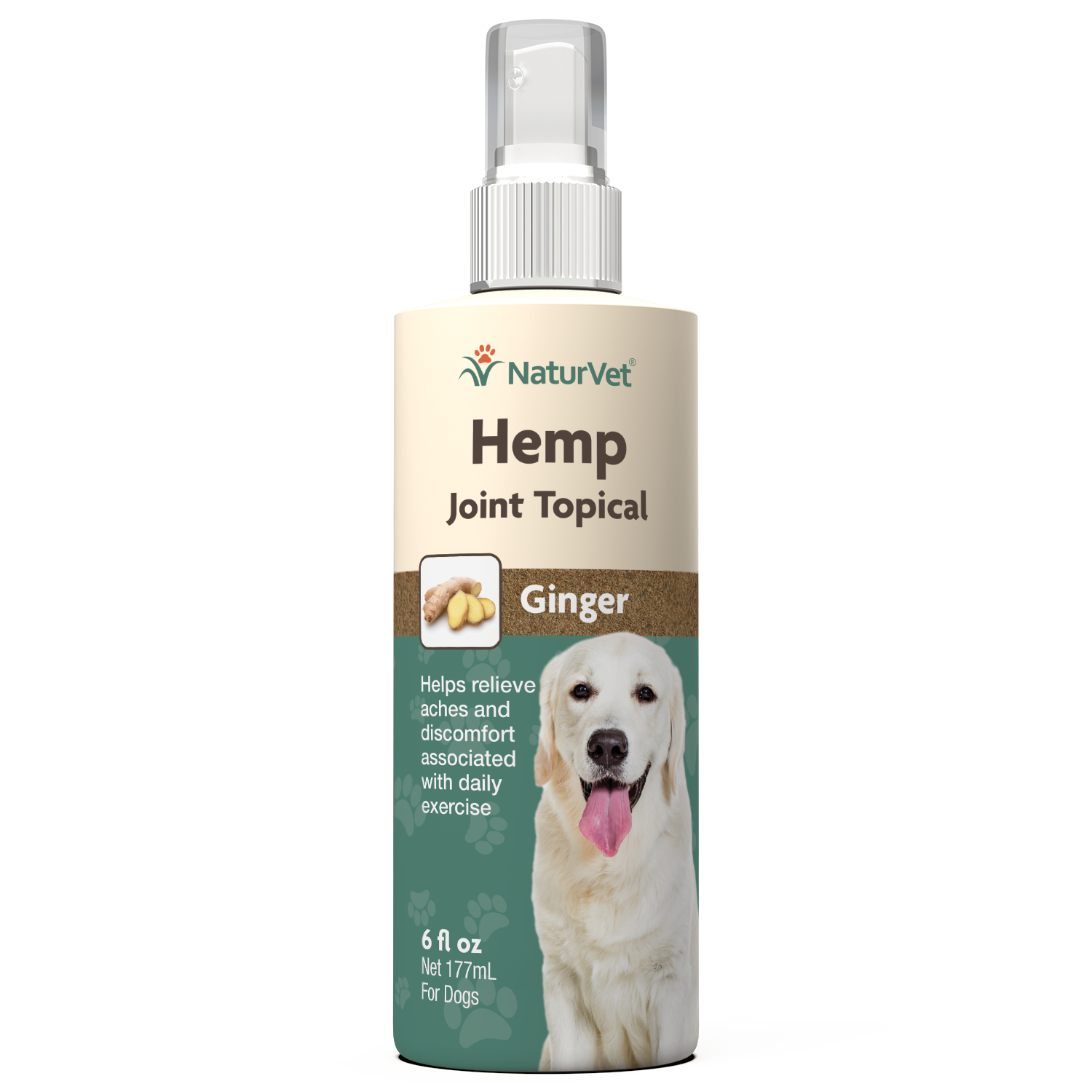 Naturvet Joint Topical Dog Spray, 6-oz