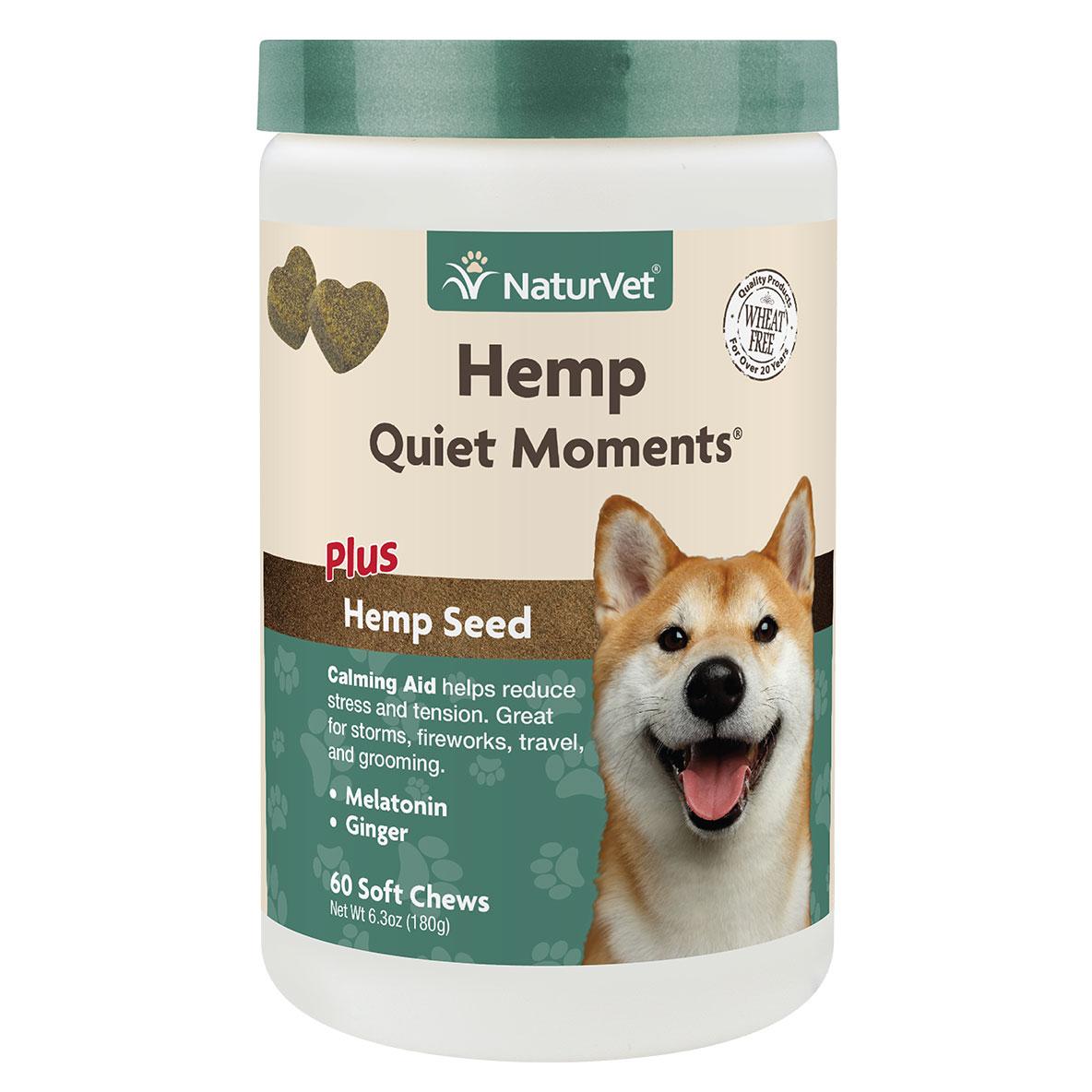 Naturvet Quiet Moments Calming Aid Dog Chew, 60-ct