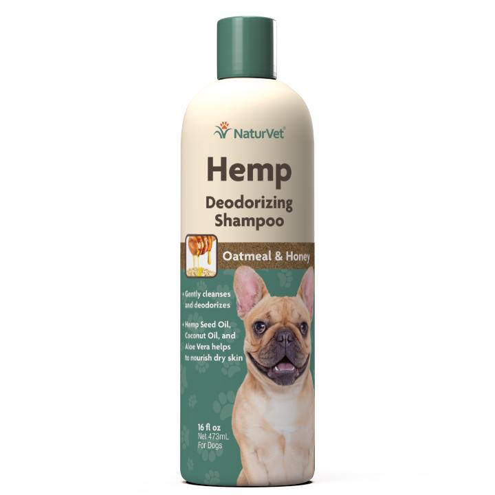 Naturvet Dog  Shampoo – Deodorizing, 16-oz