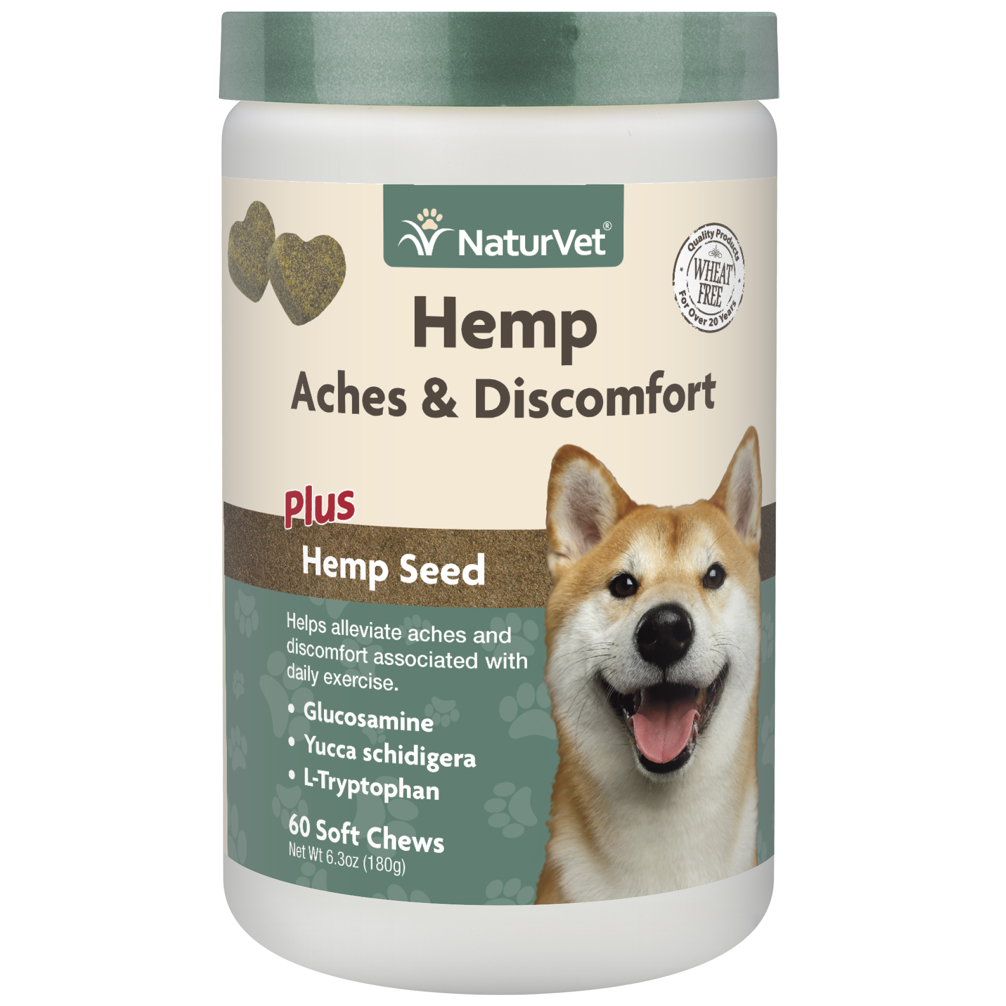 Naturvet Aches & Discomfort Soft Dog Chew, 60-ct