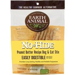 Earth Animal No-Hide Peanut Butter Stix Chew Dog Treat, 1-count