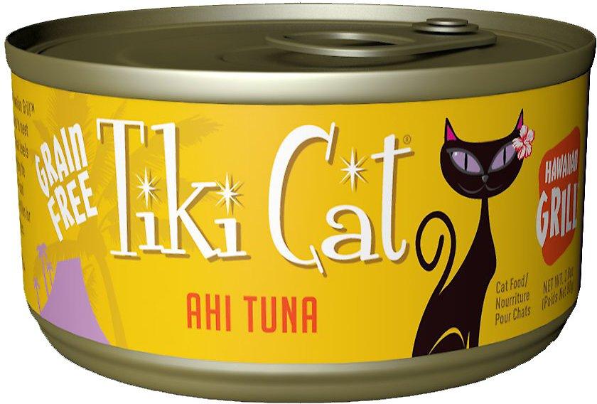 Tiki Cat Hawaiian Grill Ahi Tuna Grain-Free Canned Cat Food Image