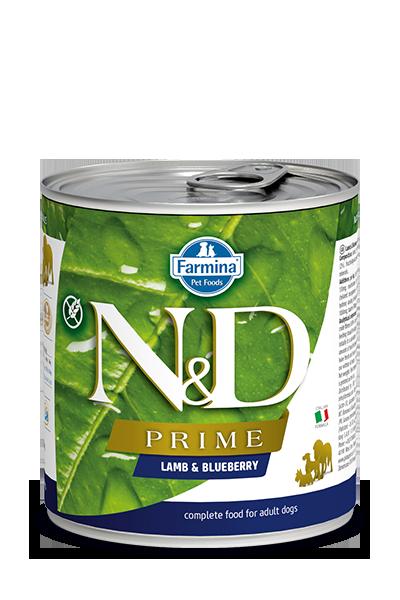 Farmina N&D Prime Lamb & Blueberry Wet Dog Food Image