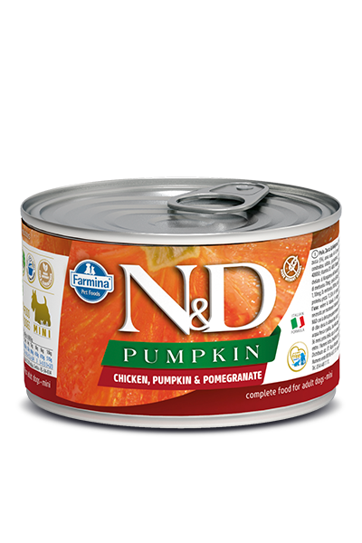 Farmina N&D Pumpkin, Chicken & Pomegranate Wet Dog Food, 4.9-oz