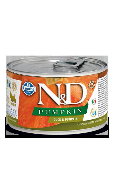 Farmina N&D Pumpkin, Duck & Cantaloupe Wet Dog Food, 10-oz, case of 6