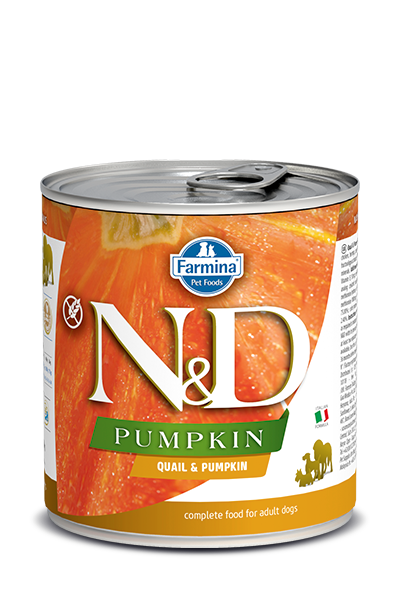 Farmina N&D Pumpkin, Quail & Pomegranate Wet Dog Food, 10-oz