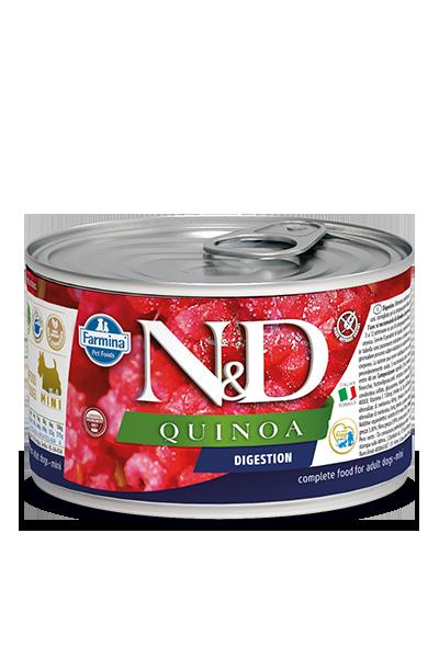 Farmina N&D Quinoa Digestion Lamb Wet Dog Food, 4.9-oz