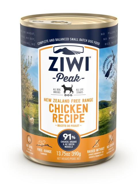 Ziwi Peak Dog Chicken Recipe Canned Dog Food, 13.75-oz