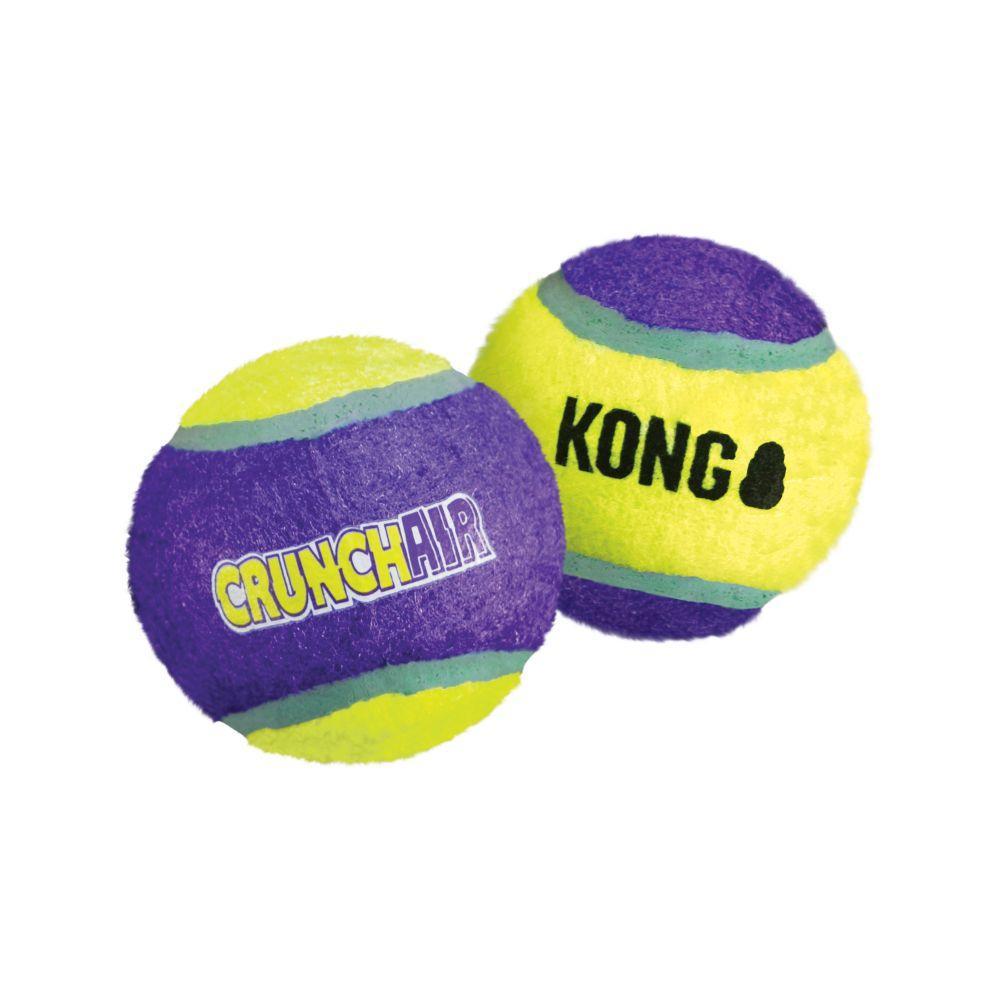 KONG CrunchAir Ball Dog Toy, Medium, 1-pk