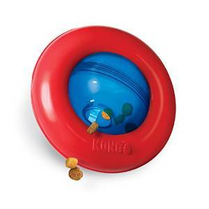 Kong Gyro Ball Dog Toy, Large