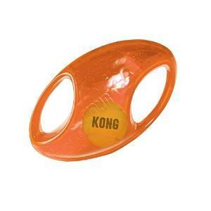 Kong Jumbler Football Dog Toy, Medium/Large (Size: Medium/Large) Image