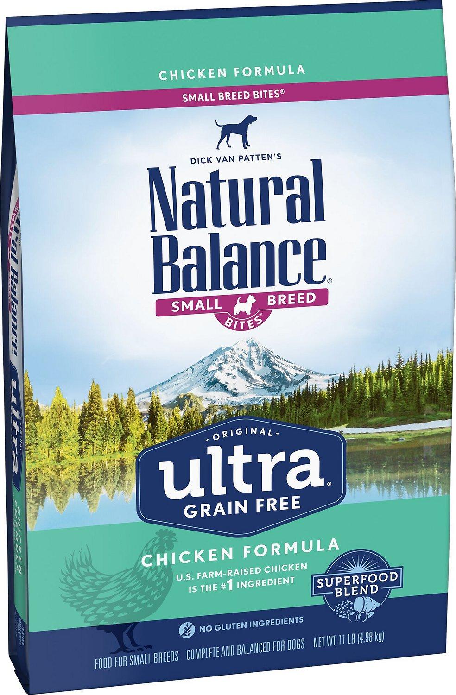 Natural Balance Original Ultra Grain-Free Chicken Formula Small Breed Dry Dog Food, 11-lb
