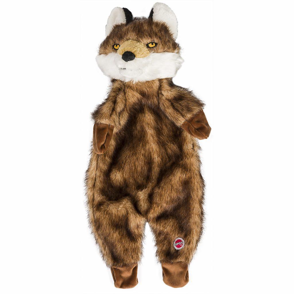 Ethical Pet Spot Furzz Fox Dog Toy, 13.5-inch