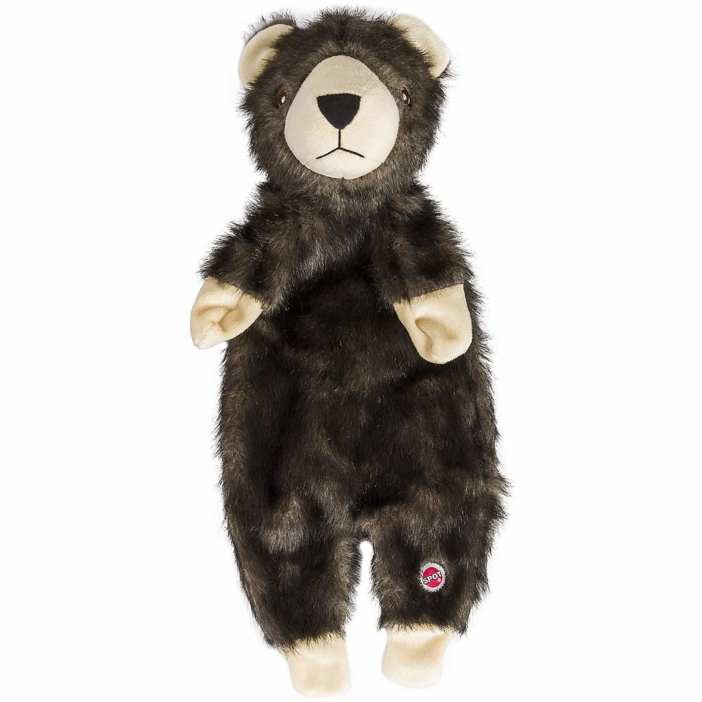 Ethical Pet Spot Furzz Bear Dog Toy, 13.5-inch