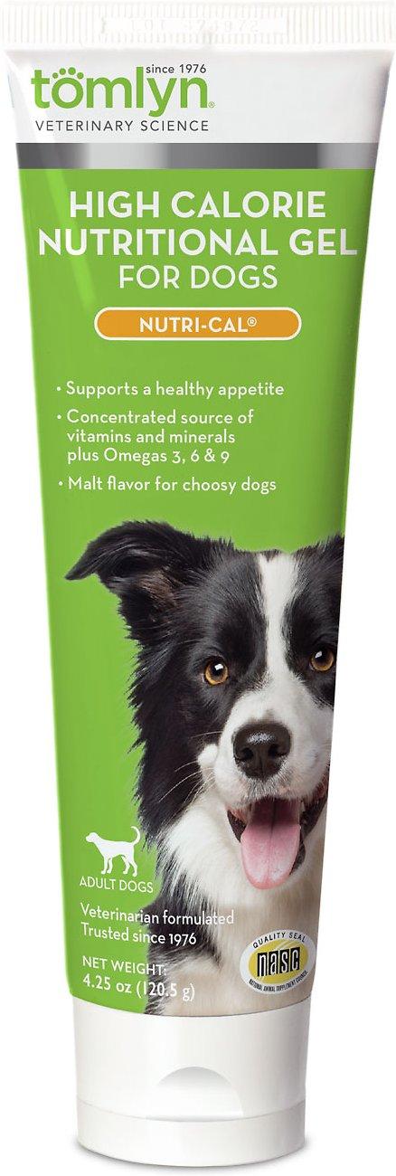 Tomlyn Nutri-Cal High-Calorie Dietary Dog Supplement, 4.25-oz tube