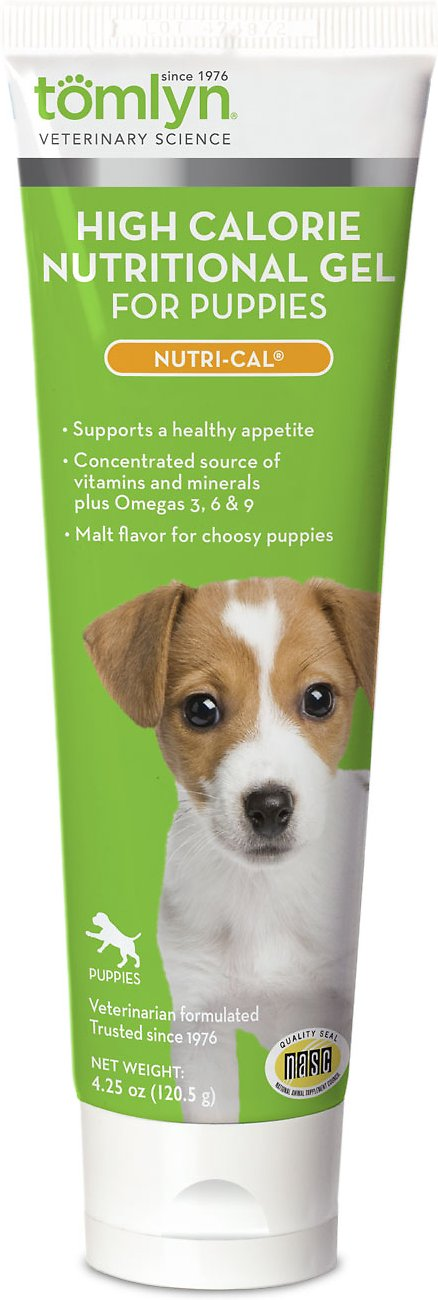 Tomlyn Nutri-Cal High-Calorie Dietary Puppy Supplement, 4.25-oz tube Image