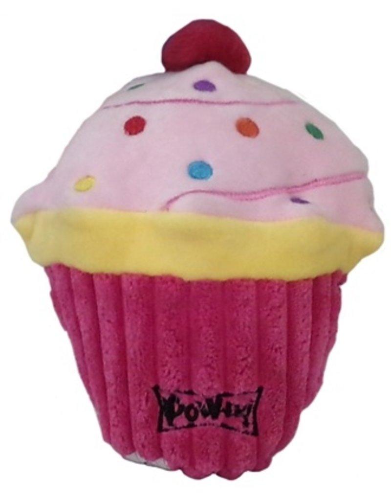 Lulubelles Power Plush Pink Pup-cake Dog Toy, Large