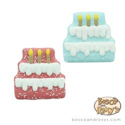 Bosco & Roxy's - Pink Birthday Pawty Three Tier Cake