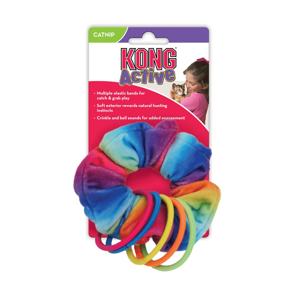 KONG Active Scrunchie Cat Toy
