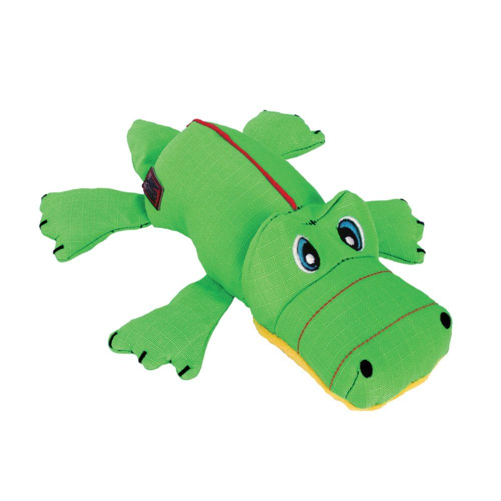 KONG Cozie Ultra Ana the Alligator Dog Toy, Medium