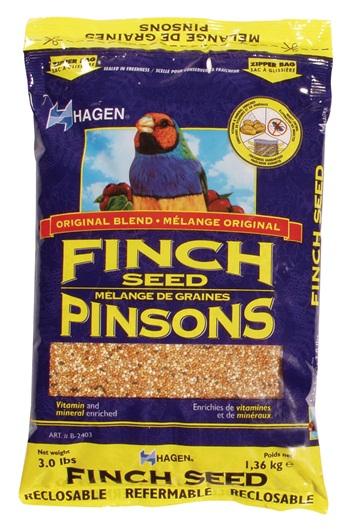 Hagen Finch Staple VME Seed, 3-lbs (Size: 3-lbs) Image