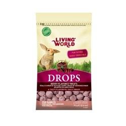 Living World Rabbit Drops Fieldberry Flavor, 2.6-oz