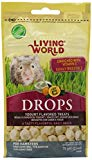 Living World Hamster Drops Yogurt Flavor, 2.6-oz