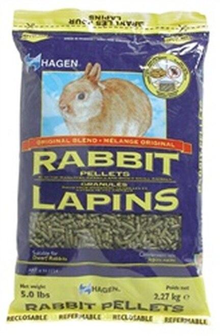 Hagen Rabbit Pellets, 5-lbs (Size: 5-lbs) Image