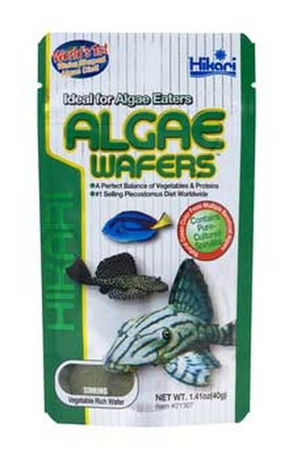 Hikari Algae Wafers Fish Food, 1.41-oz