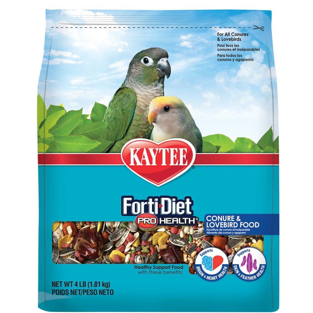 Kaytee Forti-Diet Pro Health Feather Conure & Lovebird Food Image