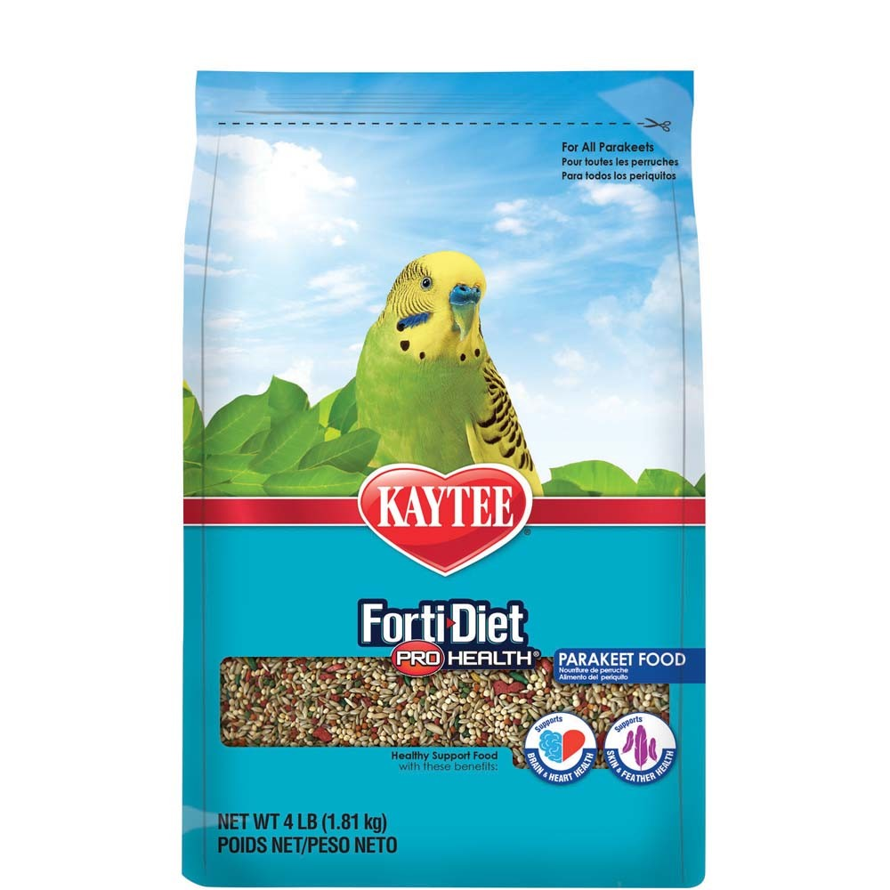 Kaytee Forti-Diet Pro Health Parakeet Bird Food Image