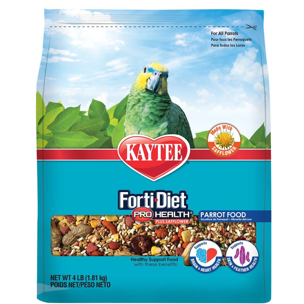Kaytee Forti-Diet Pro Health with Safflower Parrot Bird Food Image