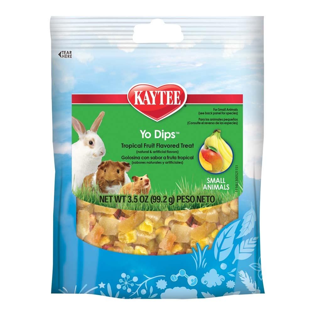 Kaytee Fiesta Yogurt Small Animal Tropical Mix, 3.5-oz
