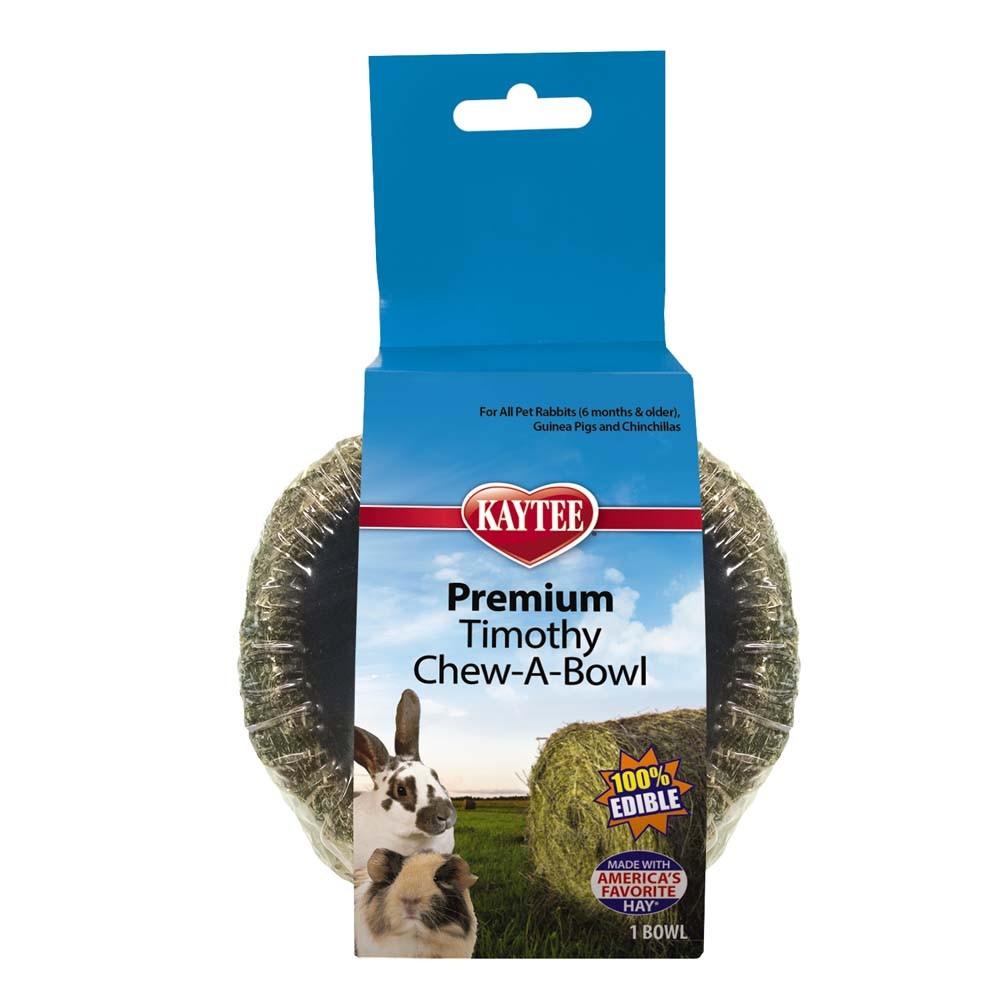 Kaytee Premium Timothy Chew-A-Bowl 100% Edible