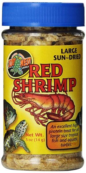 Zoo Med Jumbo Freezedried Red Shrimp .5oz.