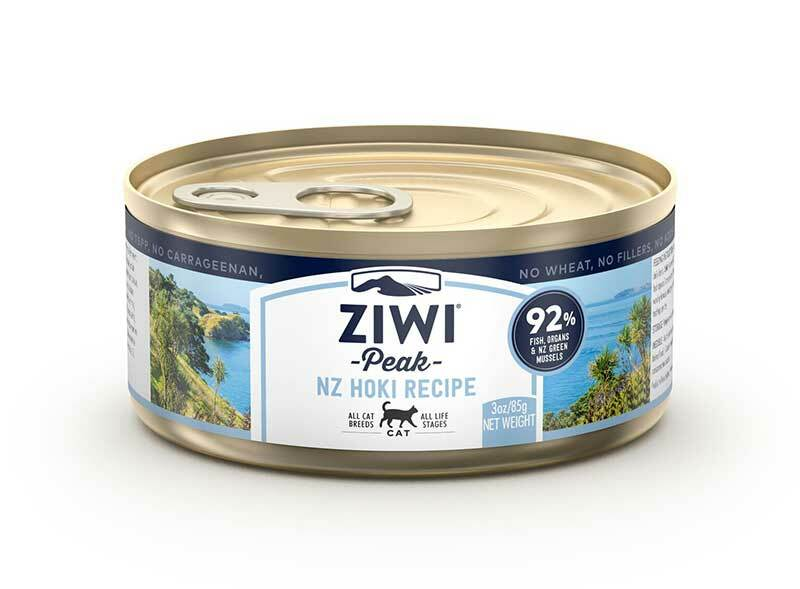 ZIWI Peak Canned Cat Food Hoki Recipe, 3-oz