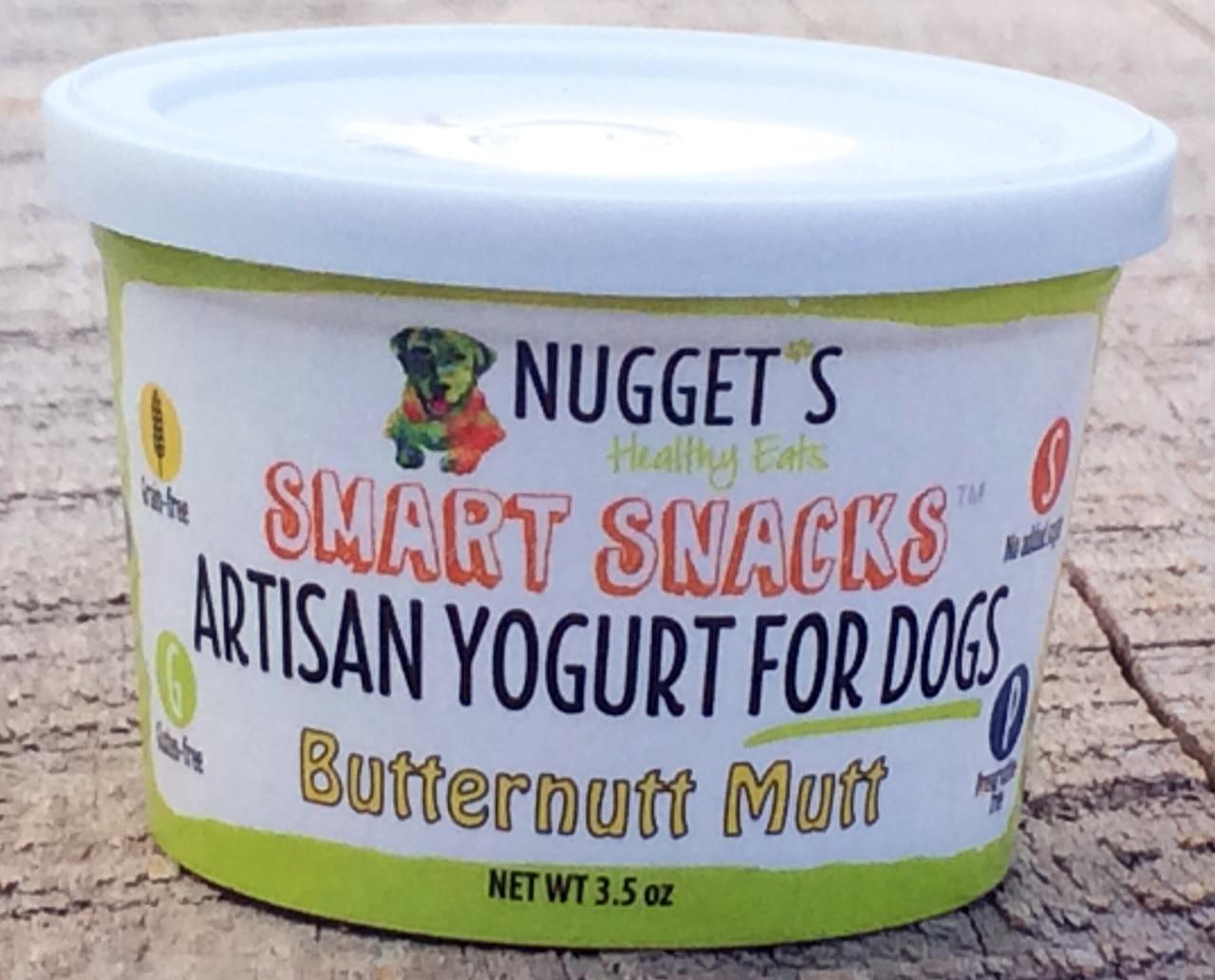 Nuggets Healthy Eats Yogurt Butternut Mutt Treats, 3.5-oz