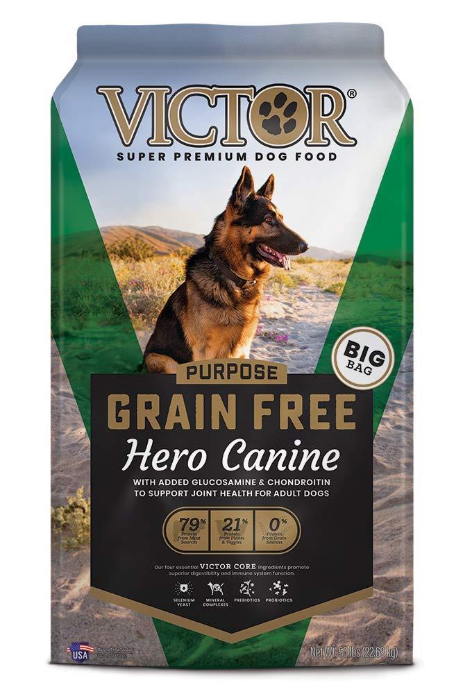 Victor Hero Grain-Free Dry Dog Food, 50-lb