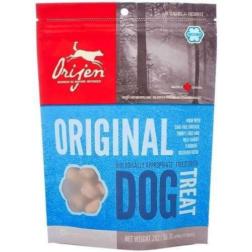 ORIJEN Original Grain-Free Freeze-Dried Dog Treats, 2-oz