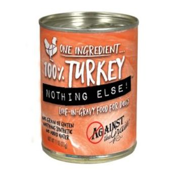 Against the Grain Nothing Else Turkey Grain-Free Canned Dog Food Image