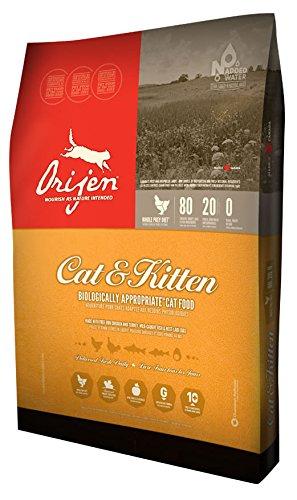 ORIJEN Cat and Kitten Grain Free Dry Cat Food, 12-oz (Size: 12-oz) Image