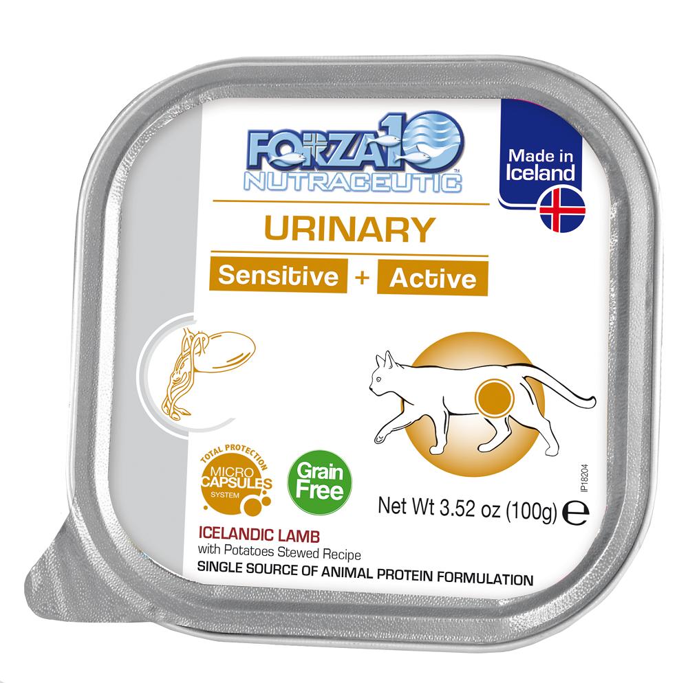 Forza10 SensitiveActive Urinary Grain-Free Wet Cat Food, 3.52-oz