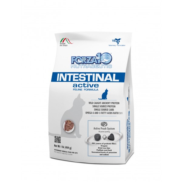 Forza10 Active Line Intestinal Active Dry Cat Food, 4-lb