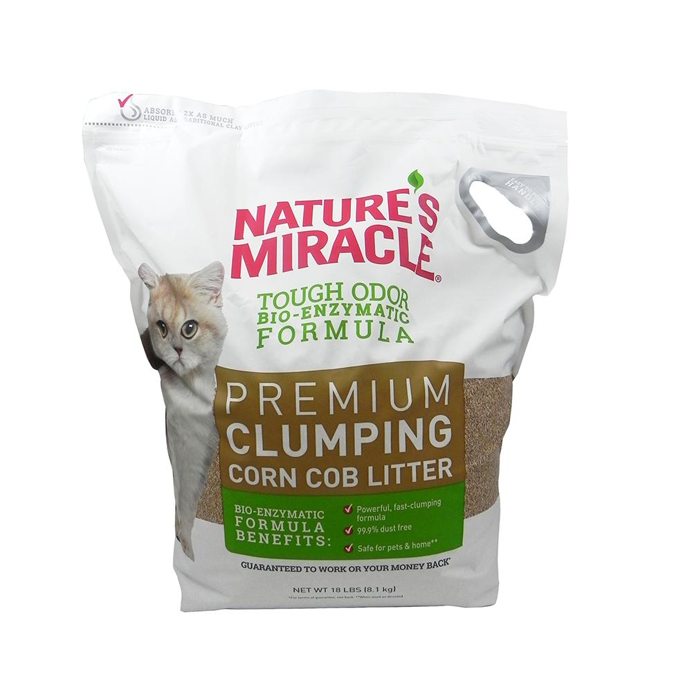 Nature's Miracle Clumping Corn Cob Cat Litter Image