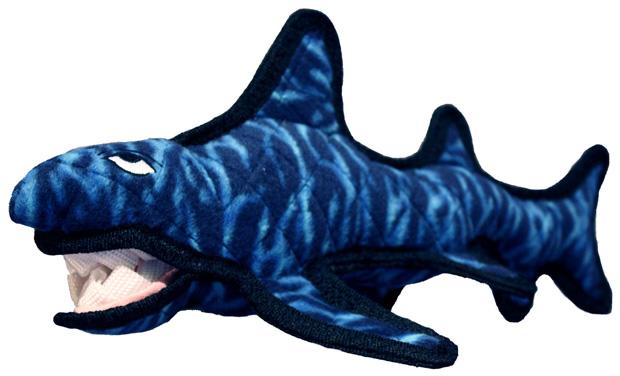 Tuffy Sea Creatures Shack the Shark Dog Toy