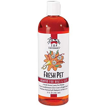 Top Performance Fresh Pet Shampoo for Dogs & Cats, 17-oz