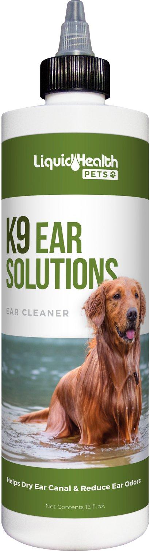 Liquid Health Pets K9 Ear Solutions Ear Cleaner, 12-oz